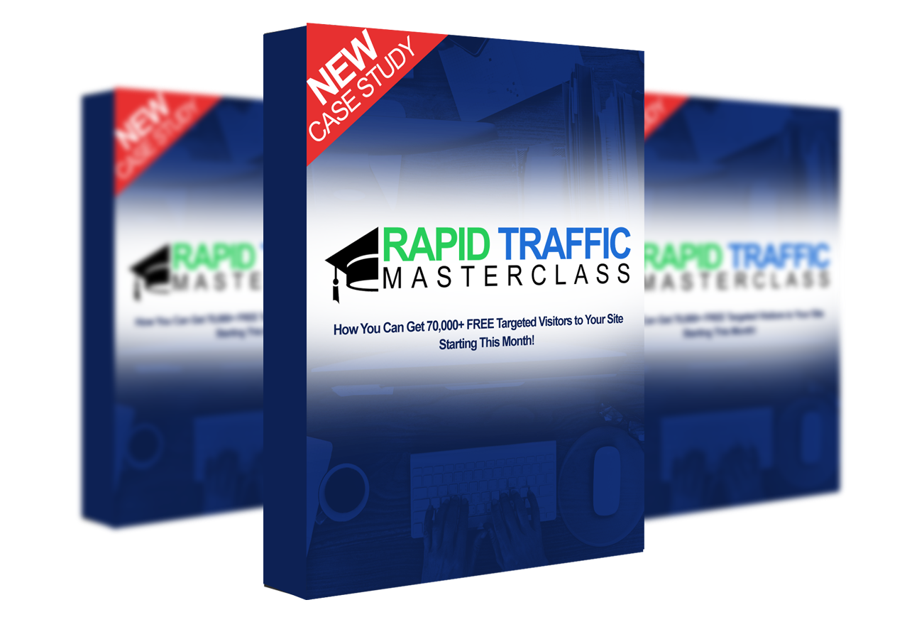 80,000+ Visitors In 30 Days: Get A Free Copy of Arguably My BEST Course Yet: Rapid Traffic Masterclass