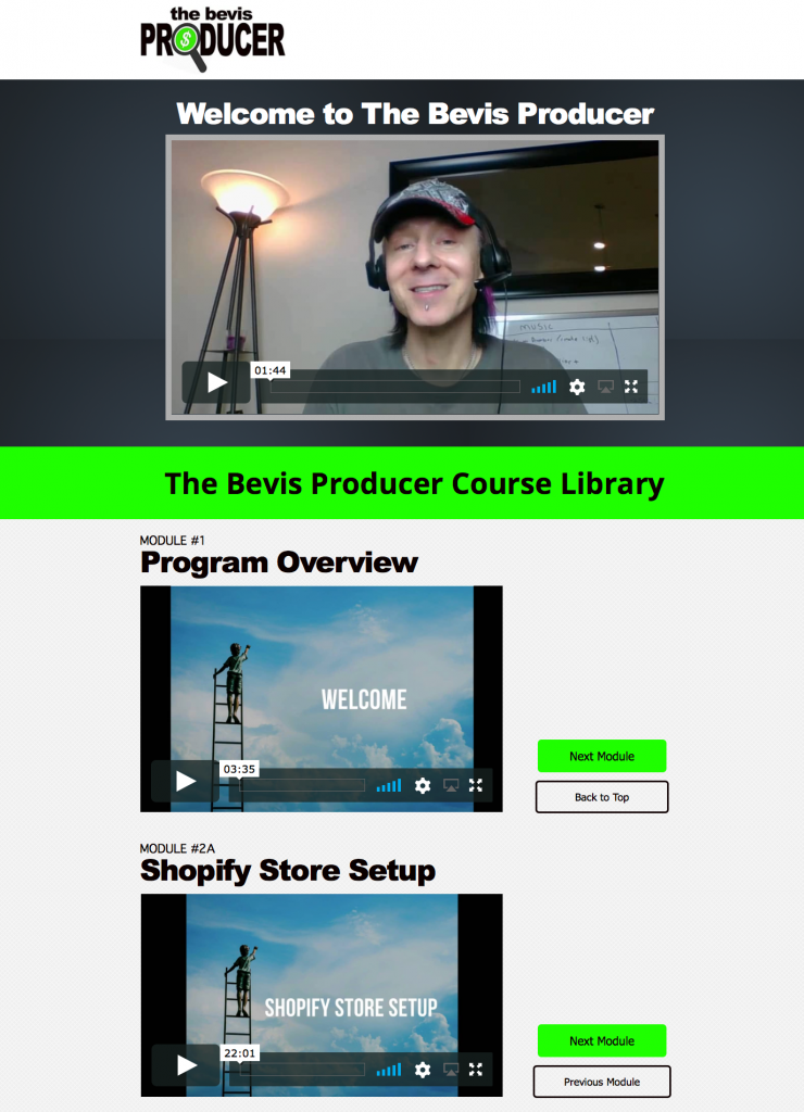 the bevis producer review 1